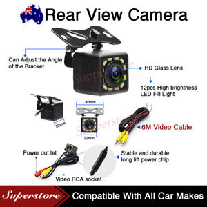 170° Reverse Camera 12 LED Car Waterproof Rear View Parking Camera Night Vision