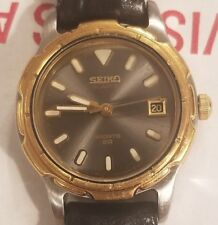 Vintage Seiko sports 50 ladies quartz watch. In excellent condition. Runs great.