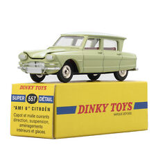 1:43 Atlas Dinky toys Car 557 Super Detail Malle Ouvrants AMI 6 CITROEN Capot ET