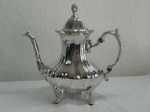Vintage Towle Grand Duchess Silverplate Coffee Pot Large
