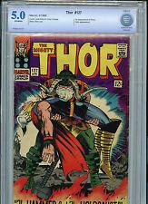 Thor #127 Silver Age Marvel Comics Cbcs 5.0 Vg/Fn 1966