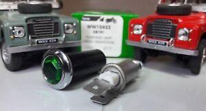 Lucas OEM Green LED Warning Light Chrome David Brown Selectamatic Tractor