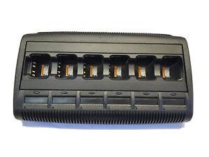 Motorola Impres 6 Bay Multi Unit Charger - No Display - WPLN4215 MotoTRBO Radio