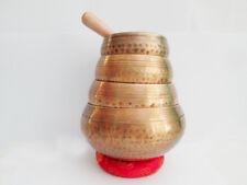 Tibetan Singing Bowls 4 Set Hand Hammered Singing Bowls Set