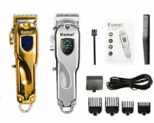 2020 NEW KEMEI ELECTRIC CORDLESS TRIMMER WIRELESS HIGH POWER HAIR CLIPPER KIT√√√