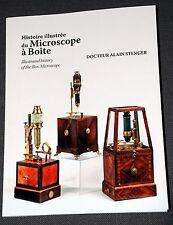A. Stenger - histoire microscope boite XVIIIe - history of box microscope 18th