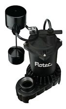 "Flotec Submersible Sump Pump 1/3 Hp 1-1/2 "" Fpt 0 '"