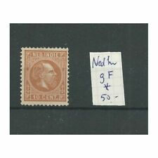 Ned. Indië  9F Willem III  MH/ongebr   CV 50 €