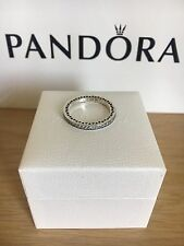 Brand New Pandora Stackable Ring Silver Hearts S925 ALE.Size 54