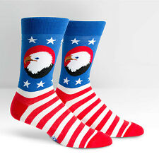 Sock It To Me Men's Crew Socks - America