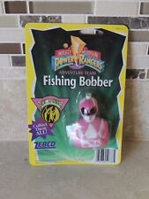 Mighty Morphin Power Rangers Adventure Team Fishing Bobber Pink -Zebco -Nip-1995