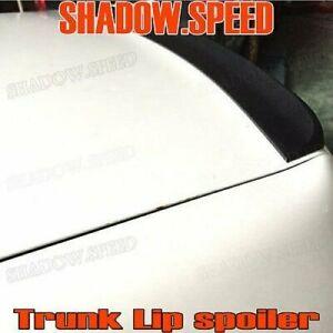 Flat Black 162 SV Rear Trunk Spoiler Wing For 1999~03 Mazda Protege 323 Sedan