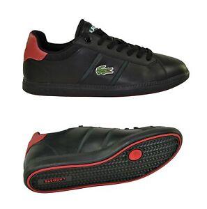 Lacoste Graduate EVO CTS SPM black red Sneaker Schuhe