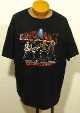 vintage MOTLEY CRUE t-shirt '06 CARNIVAL OF SINS T0UR size 2XL