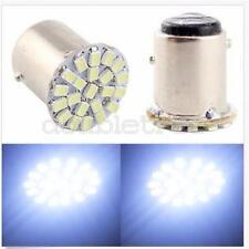 4x 1157 BAY15D 22 SMD LED P21/5W White Car Stop Tail Turn Brake Light Bulb Lamp