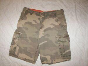 Boys Arizona Camo Cargo Shorts - 14H