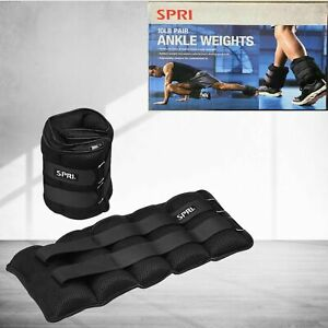 Two 10 lb Ankle Wrist Weights 20 lbs Pair Total Comfort fit by SPRI NEW SEALED!