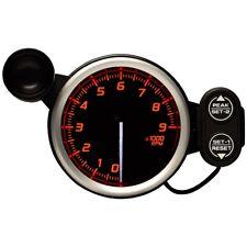 DEFI 80MM RACER 9000 RPM GAUGE N2 RED