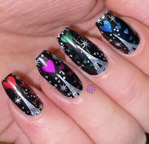 Color Nail Polish Strips 16ct CUSTOM LOVE IS IN THE AIR. SALE