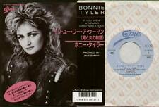 "BONNIE TYLER If You Were A Woman  7"" Ps, Japanese Issue, B/W Under Suspicion, 07"