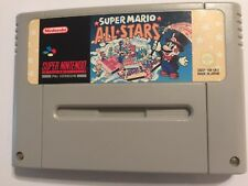 Super Nintendo Entertainment System SNES cartouche Super Mario All Stars (1 2 3)
