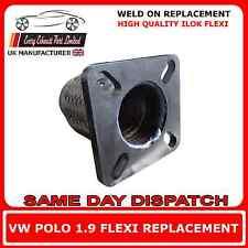 VW Polo 1.9 Sdi 1995-99 Réparation Échappement Flexible Remplacement Pour Tuyau