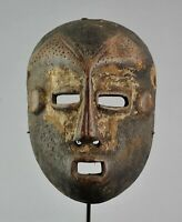 Grand masque Bwami LEGA  Large Mask Congo Rdc African Tribal Art Africain 1077