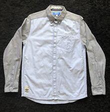 Rare Shirt Chemise Adidas Vespa Servizio Originals 3 Bandes P01393 Blue Jeans M
