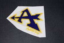 Arrow Pegatina Sticker decal schrifzug escape exhaust logotipo carbon silenciador li