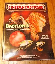 Cinefantastique Magazine Feb.1993 Vol.23 #5 Babylon 5 Issue