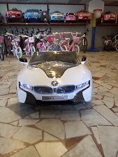 AUTO ELETTRICA MACCHINA PER BAMBINI 12V CON TELECOMANDO BMW i8 CONCEPT CAR