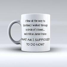 Quote Inspiration Outlander - I Love You - Sassenach - Funny Mug - Coffe Mug