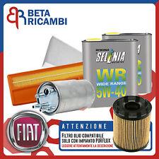 Kit Tagliando Grande Punto 1.3 Multijet 75CV + 4 L Selenia 5W40 (IMP. PURFLUX)