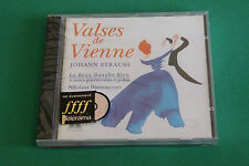 "CD J. STRAUSS ""VALSES DE VIENNE"" N. HARNONCOURT / TELDEC 1991, NEUF"
