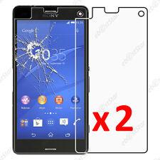 x2 Film Protection écran Verre Trempé Vitre Anti Casse Sony Xperia Z3 Compact
