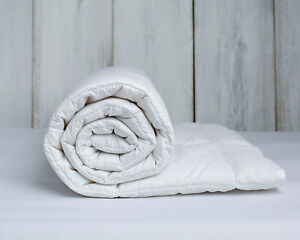 Luxury Merino Wool Duvet Quilt King Size 225 cm x 220 cm cotton wool natural