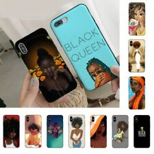 2bunz Melanin Poppin Aba Phone case For iPhone 6 S 7 8 Plus X XS Max XR 11 Pro