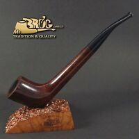 OUTSTANDING Hand made Mr.Brog smoking pipe nr.78 INDIANA smooth classic brown