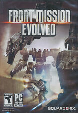 FRONT MISSION EVOLVED - Future Combat Action PC Windows Game - NEW US Version!