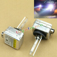 2 x White 35W 6000K 12V Auto Car D1S Frente linterna de la luz HID Xenon Nueva