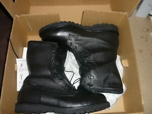 Bates C 11460 Mens Leather Gore-Tex Military Boots Size 14 1/2 WIDE 1 Set Liners