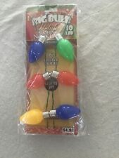 Holiday Flashing Christmas Lights Necklace Big Bulb 10 LED 702325