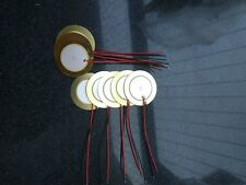 10PCS 35mm Piezo Disc2.8kHz prewires for buzzer , pressure sensor , speaker ,DIY
