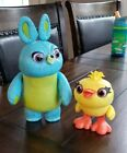 Toy Story Disney/Pixar Interactive True Talkers Bunny and Ducky 2-Pack - no box
