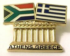 Pin Spilla Olimpiadi Athens 2004 Greece/South Africa Flags