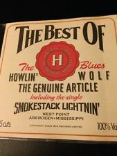 Howlin' Wolf – The Genuine Article - The Best Of Howlin' Wolf - CD, Blues
