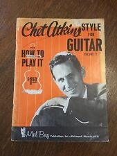 CHET ATKINS - STYLE FOR GUITAR and HOW TO PLAY IT - VOL. 2 - MUSIC SONGBOOK - 19