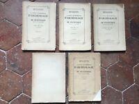 Lotto Notiziario Della Societè Archeologia E Di Statistiche Drôme 1878 1885