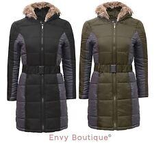Brave Soul Nylon Patternless Coats & Jackets for Women