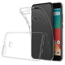 for XIAOMI Mi A1 Case Clear Slim GEL Cover and Glass Screen Protector